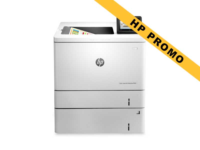 Hewlett-Packard HP M553x, Farblaser Drucker, A4, 38 Seiten pro Minute, Drucken, Duplex und WLAN