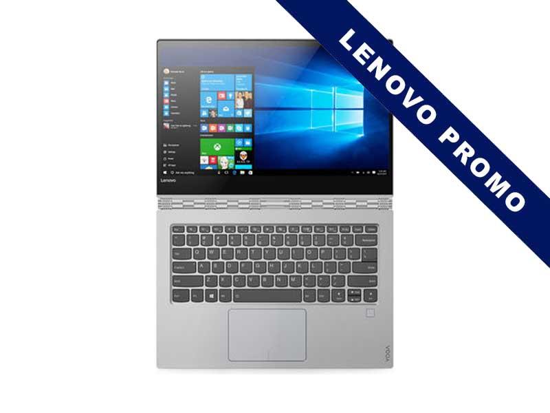 Lenovo Notebook Yoga 920-13 Silber, Intel Core i7-8550U, 16GB DDR4 RAM, 1TB SSD, 13.9 Zoll, 3840 x 2160 Pixel, Windows 10 Home
