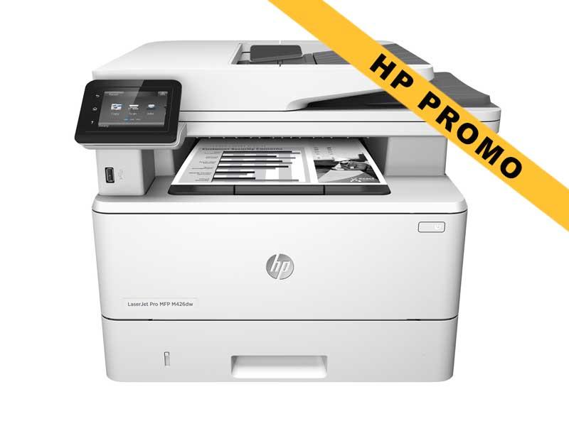 Hewlett-Packard HP LaserJet Pro MFP M426dw, Schwarzweiss Laser Drucker, A4, 38 Seiten pro Minute, Drucken, Scannen, Kopieren, Duplex und WLAN