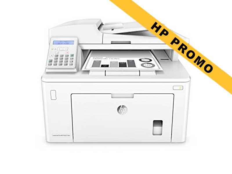 Hewlett-Packard HP LaserJet Pro MFP M227fdn, Schwarzweiss Laser Drucker, A4, 28 Seiten pro Minute, Drucken, Scannen, Kopieren, Fax, Duplex