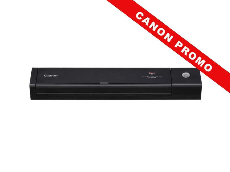 Canon P-208II Mobiler Dokumentenscanner, Duplex, 2-Zeilensensor (CMOS CIS), USB 2.0, 600 dpi,