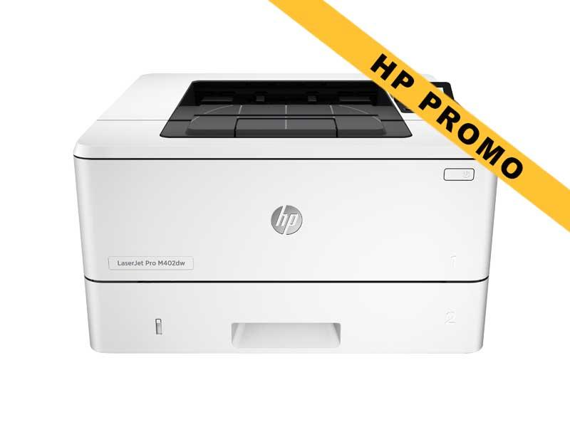 Hewlett-Packard HP LaserJet Pro M402dw, Schwarzweiss Laser Drucker, A4, 38 Seiten pro Minute, Drucken, Duplex und WLAN