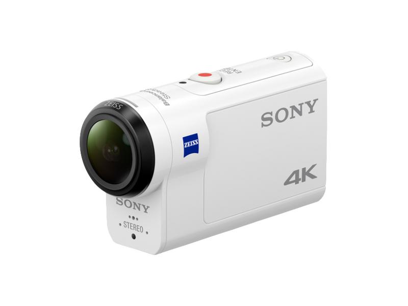Sony Actioncam FDR-X3000 inkl. AKA-FGP1, Widerstandsfähigkeit: Wassergeschützt; Stossgeschützt; Staubgeschützt, Speicherkartentyp: Micro-SDXC; Micro-SDHC; Micro-SD, Bildsensor Auflösung: 8.2 Megapixel, Farbe: Weiss, Wasserschutz bis (m): 60, Bildwied