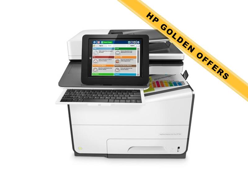 Hewlett-Packard HP MFP 586z, Farbe Tintenstrahl Drucker, A4, 50 Seiten pro Minute, Drucken, Scannen, Kopieren, Fax, Duplex