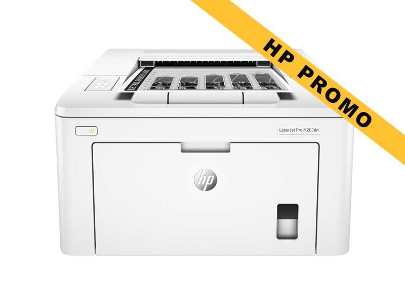 Hewlett-Packard HP LaserJet Pro M203dn, Schwarzweiss Laser Drucker, A4, 28 Seiten pro Minute, Drucken, Duplex