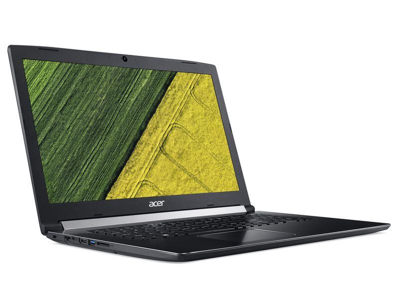 Acer Notebook Aspire 5 Pro (517-51G), Intel Core i5-8250U, 8GB DDR4 RAM, 1TB HDD + 256GB SSD, 17.3 Zoll, 1920 x 1080 Pixel, Windows 10 Pro