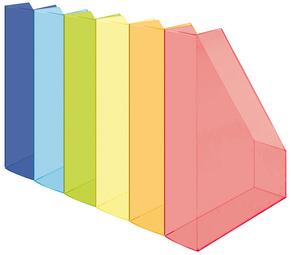 Stehsammler, DIN A4, Polystyrol, transparent