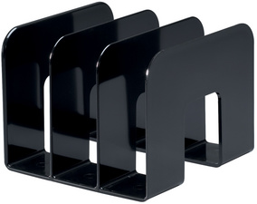 DURABLE Stehsammler TREND, Kunststoff, 3 Fächer, transparent