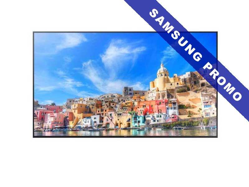 Samsung Public Display QM85F, 85 Zoll LED, 3840 x 2160 Pixel Full HD, 16:9, DVI VGA HDMI, Schwarz