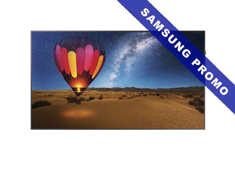 Samsung Public Display QM98F, 98 Zoll LED, 3840 x 2160 Pixel, 16:9, HDMI, Schwarz