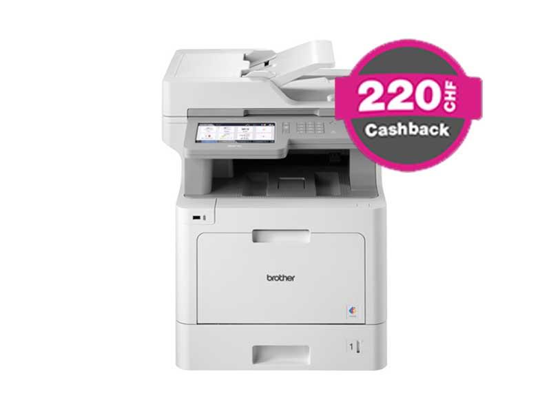 Brother MFC-L9570CDW, Farblaser Drucker, A4, 30 Seiten pro Minute, Drucken, Scannen, Kopieren, Fax, Duplex
