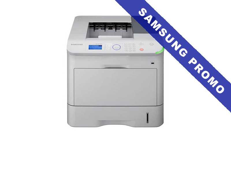 Samsung ML-6515ND, Schwarzweiss Laser Drucker, A4, 62 Seiten pro Minute, Drucken, Duplex