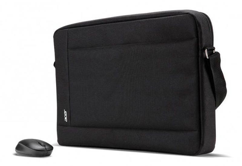 Acer Tasche für 15.6 (schwarz) und wireless Maus (schwarz)