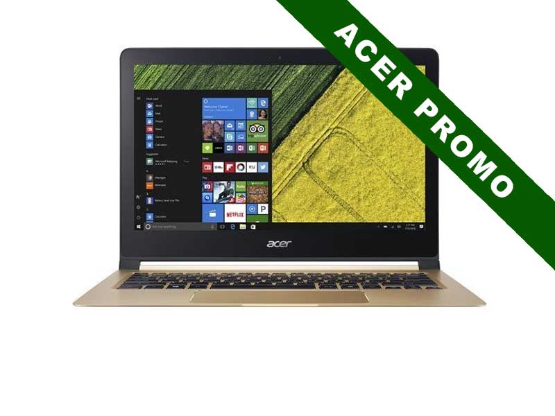 Acer Notebook Swift 7 (SF713-51), Intel Core i5-7Y54, 8GB DDR3 RAM, 256GB SSD, 13.3 Zoll, 1920x1080 Pixel, Windows 10 Pro