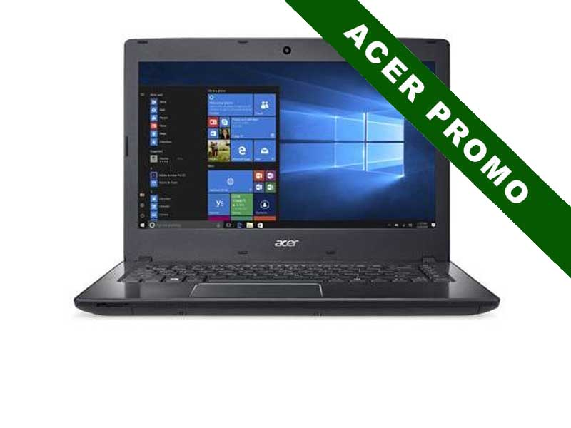 Acer Notebook Travelmate P249, Intel Core i5-7200U, 4GB DDR4 RAM, 128GB SSD, 14 Zoll, 1366 x 768 Pixel, Windows 10 Home