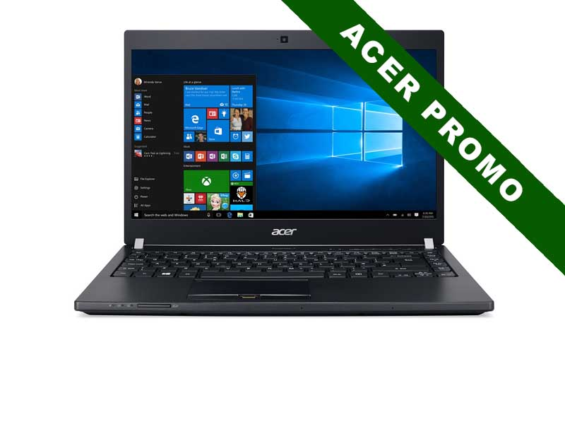 Acer Notebook TravelMate P648-M, Intel Core i7-7500U, 12GB DDR4 RAM, 512GB SSD, 14 Zoll, 1920 x 1080 Pixel, Windows 10 Pro
