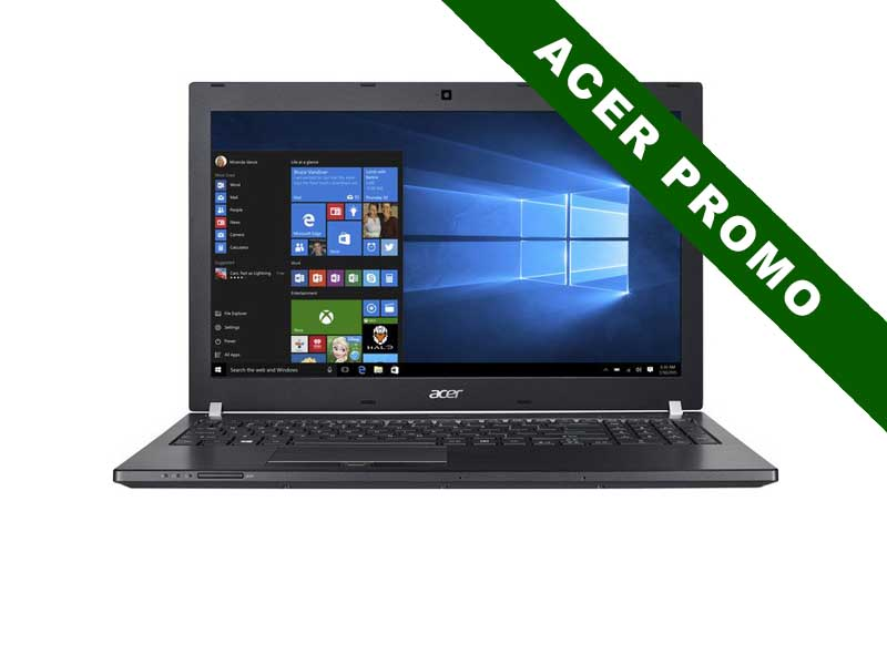 Acer Notebook TravelMate P658-M, Intel Core i5-7200U, 8GB DDR3 RAM, 256GB SSD, 15.6 Zoll,1920 x 1080 Pixel, Windows 10 Pro