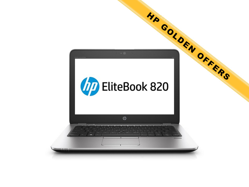 Hewlett-Packard HP Notebook Elitebook 820 G3, Intel Core i5-6200U, 8GB DDR4 RAM, 256GB SSD, 12.5 Zoll, 1920 x 1080 Pixel, Windows 10 Pro