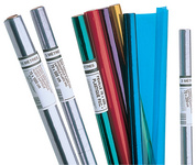 Buchschutzfolie, PVC, kristall farblos, 700 mm x 50 m