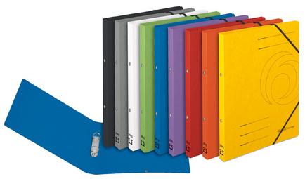 Ringhefter easyorga, A4, Colorspan-Karton, grün