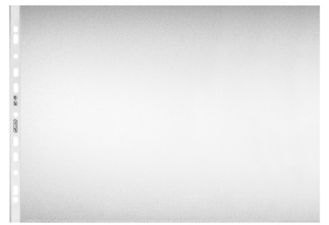 Prospekthülle, DIN A3 quer, genarbt, 0,08 mm