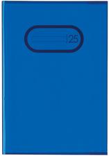 Heftschoner, DIN A5, aus PP, transparent-blau