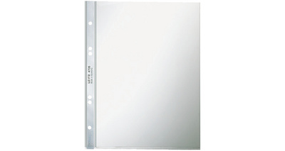 Prospekthülle Super Premium, A5, PVC, glasklar, 0,08mm