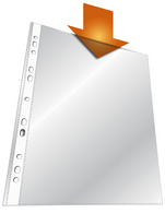 Prospekthülle, DIN A4, PP, transparent, 0,06 mm