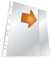 Prospekthülle, DIN A4, PP, transparent, 0,135 mm