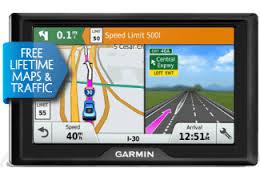 GARMIN Navigationsgerät Drive 50LMT Funktionen: Fahrspurassistent, Geschwindigkeitsassistent, Point of Interest, TMC-Verkehrsinformation, Anwendungsbereich: Auto, Kartenabdeckung: Europa, Kartenansicht: Satellitenansicht, Kartenupdates, Bildschirmdia