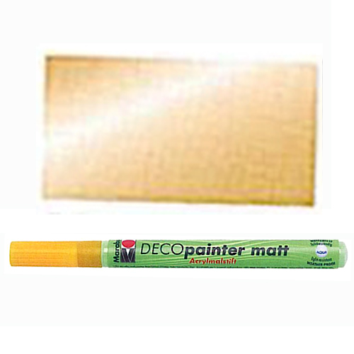 "Acrylmarker ""Deco Painter matt"", gold"