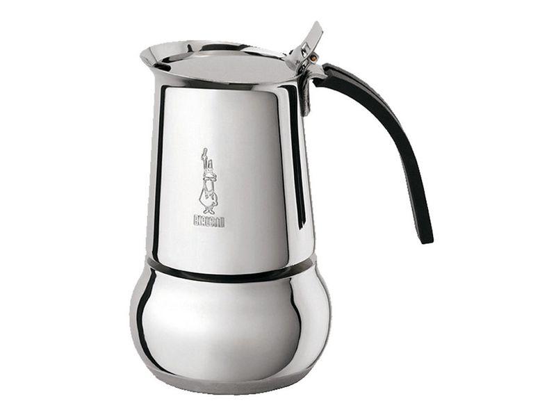 Espressokanne Kitty Induktion Silber 4 Tassen Betriebsart: Manuell, Kompatible Kochfelder: Ceran, Halogen, Elektrisch, Gas, Induktion, Farbe: Silber, Anzahl Tassen: 4 ?