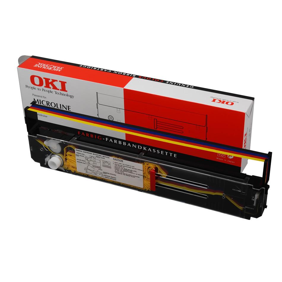 OKI - Farbband (Farbe) - 1 x Farbe (Cyan, Magenta, Gelb, Schwarz) - 2 Millionen Zeichen