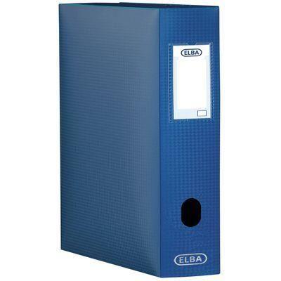 Sammelbox Memphis, Füllhöhe: 100 mm, DIN A4, blau