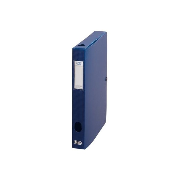 Sammelbox Memphis, Füllhöhe: 40 mm, DIN A4, blau
