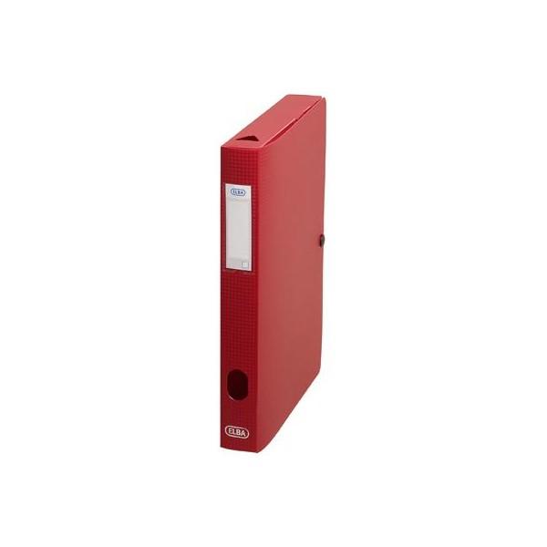 Sammelbox Memphis, Füllhöhe: 40 mm, DIN A4, rot