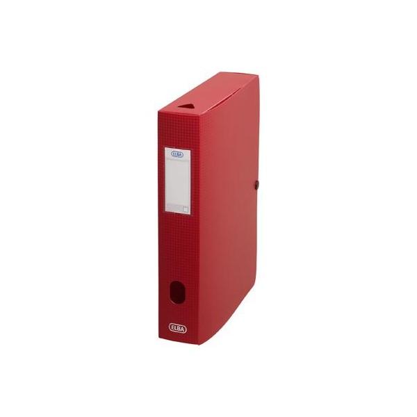 Sammelbox Memphis, Füllhöhe: 60 mm, DIN A4, rot