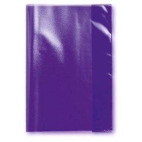 LANDRE Heftschoner DIN A5, violett-transparent, aus PP