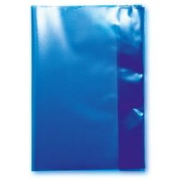 LANDRÉ Heftschoner DIN A5, blau-transparent, aus PP