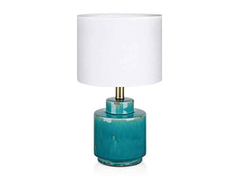 Markslöjd Cous Tischleuchte Blau Schutzklasse: IP20, Leuchten Kategorie: Tischleuchte, Betriebsart: Netzbetrieb, Leuchten Design: Modern, Leuchtmittel: Energiesparlampe, LED, Halogenlampe, Lampensockel: E27, Zusätzliche Ausstattung: Ein/Aus-Schalter