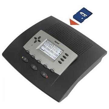 Tiptel 540 SD Office Analog, Anrufbeantworter, 6 Ansagen, 5 individuelle Ansagen,