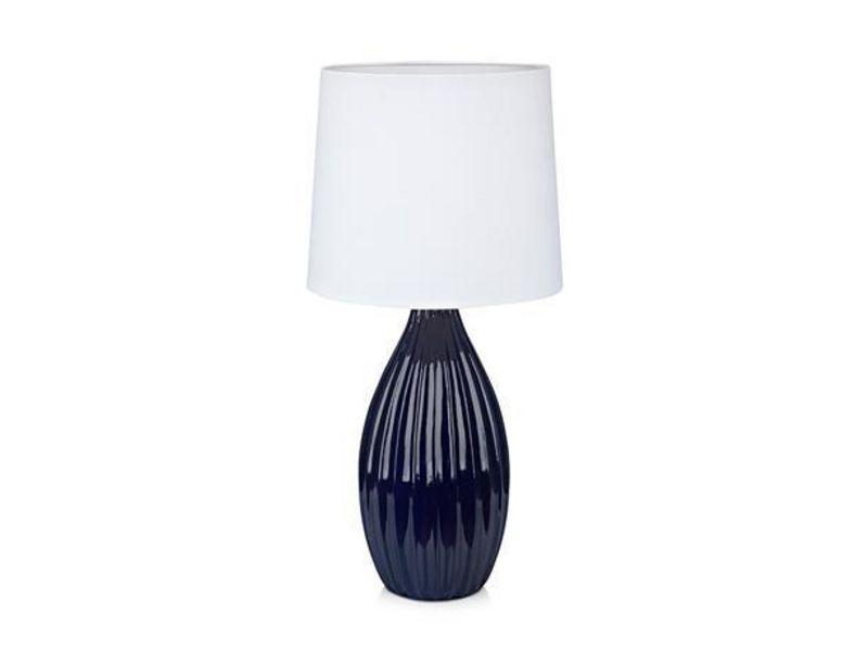 Markslöjd Tischleuchte STEPHANIE Blau Schutzklasse: IP20, Leuchten Kategorie: Tischleuchte, Betriebsart: Netzbetrieb, Leuchten Design: Modern, Leuchtmittel: Halogenlampe, LED, Energiesparlampe, Lampensockel: E27, Zusätzliche Ausstattung: Ein/Aus-Scha