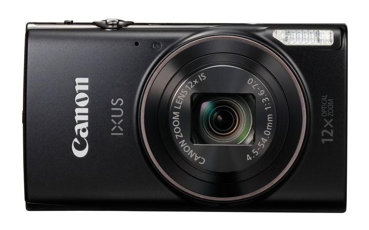 Canon digital IXUS 285 HS, Digitalkamera-Kompaktkamera, 3 zoll LCD, 20.2 MP, 5184 x 3888 Pixel, 12 x optischer Zoom, 4 x Digitales Zoom, SD-SDHC-SDXC, Schwarz