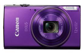 Canon digital IXUS 285 HS, Digitalkamera-Kompaktkamera, 3 zoll LCD, 20.2 MP, 5184 x 3888 Pixel, 12 x optischer Zoom, 4 x Digitales Zoom, SD-SDHC-SDXC, violett