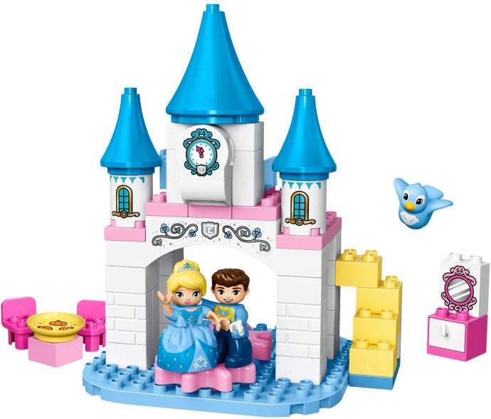 LEGO ® DUPLO® Cinderellas Märchenschloss 10855 Themenwelt: DUPLO, Kategorie: Disney, Altersempfehlung ab: 2 Jahren, Anzahl Teile: 56