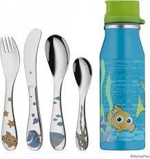 Kinderbesteck Set 5-teilig Nemo, inkl. Trinkflasche