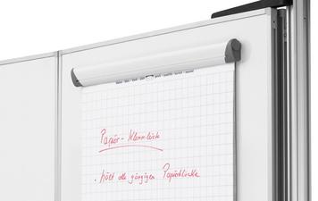 Papier-Klemmleiste, magnethaftend, (B)700 mm