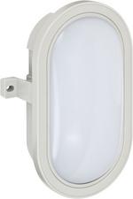 LED-Ovalleuchte L DN 3002 IP44, grau, 5,5 Watt