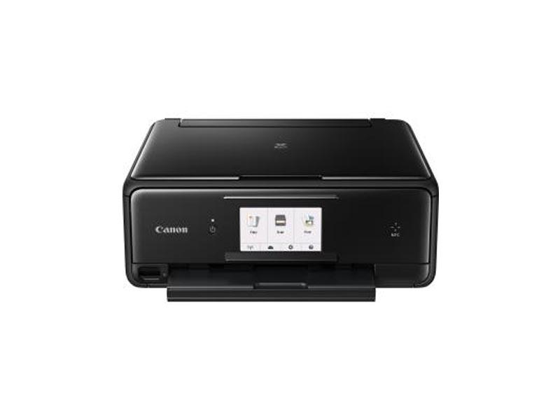 Canon PIXMA TS8050, Farbe Tintenstrahl Drucker, A4, 15 Seiten pro Minute, Drucken, Scannen, Kopieren, Duplex