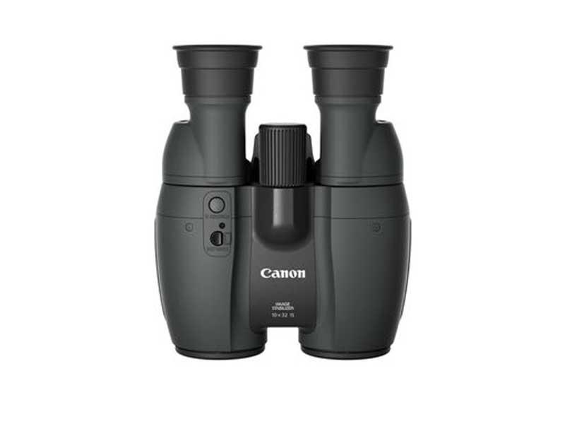 Canon Fernglas 10x32 IS, Prismentyp: Porro, Dämmerungszahl: 0, Vergrösserung: 10 ×, Naheinstellgrenze: 2 m, Bildstabilisator, Gewicht: 780 g, Sehfeld auf 1000 m: 105 m